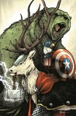 Avengers - Artwork by David Petersen