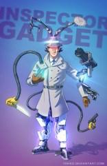 BADASS Inspector Gadget