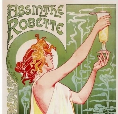"""Henri Privat-Livemont, """"Absinthe Robette"""""""