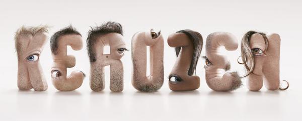 Kerozen typeface