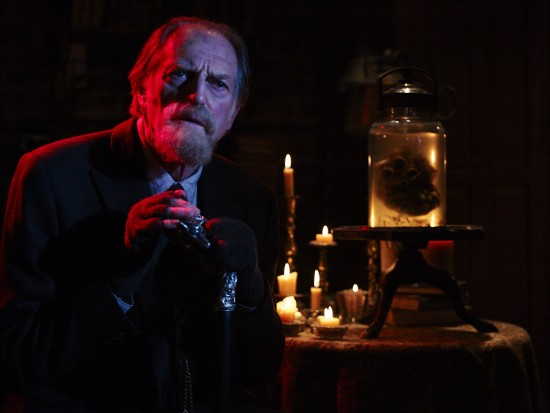 "David Bradley as Abraham Setrakian in ""The Strain."""