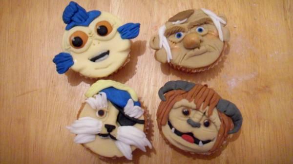 Labyrinth-cupcakes