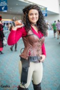 Zoe from Firefly - SDCC 2014 - Photo: Geeks are Sexy