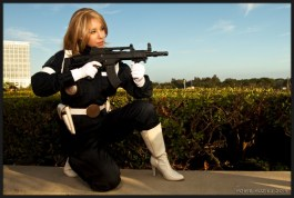 Agent of Shield - SDCC 2014 - Photo: Howie Muzika