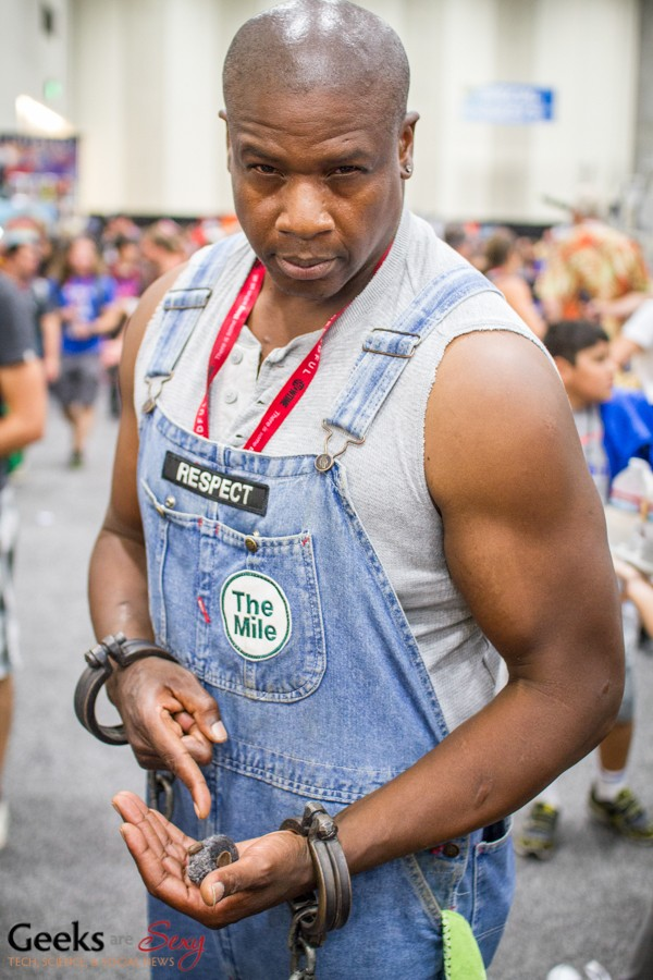 John Coffey - SDCC 2014 - Photo: Geeks are Sexy