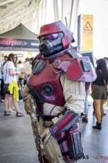 Crimson Lance (Borderlands) - SDCC 2014 - Geeks Are Sexy