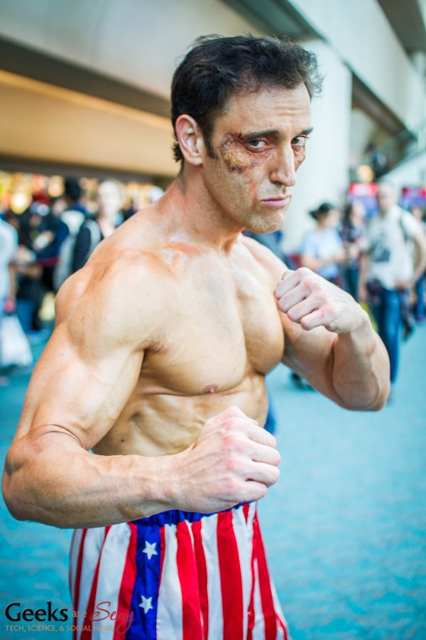 Rocky Balboa - SDCC 2014 - Photo: Geeks are Sexy