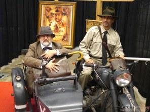 Indiana Jones and Henry Jones, Sr. Henry Jones, Sr. - Montreal Comic Con 2014 - Photo by Geeks are Sexy