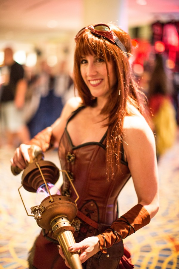 Steampunk Lady (DragonCon 2014) Photography: Counse