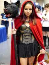 Little Red Riding Hood - Comiccon de Québec 2014 - Photo by Geeks are Sexy