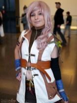 Lightning (Final Fantasy) - Comiccon de Québec 2014 - Photo by Geeks are Sexy