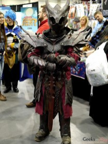 Daedric Armor (Skyrim) - Comiccon de Québec 2014 - Photo by Geeks are Sexy