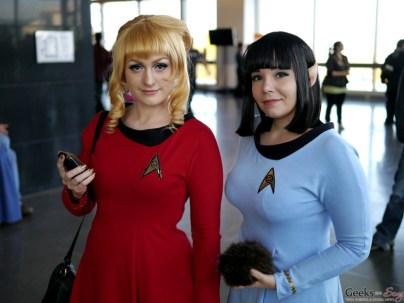 Star Trek TOS Ladies – Comiccon de Québec 2014 – Photo by Geeks are Sexy