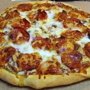 """Pepperoni pizza"". Licensed under Public Domain via Wikimedia Commons - https://commons.wikimedia.org/wiki/File:Pepperoni_pizza.jpg#/media/File:Pepperoni_pizza.jpg"