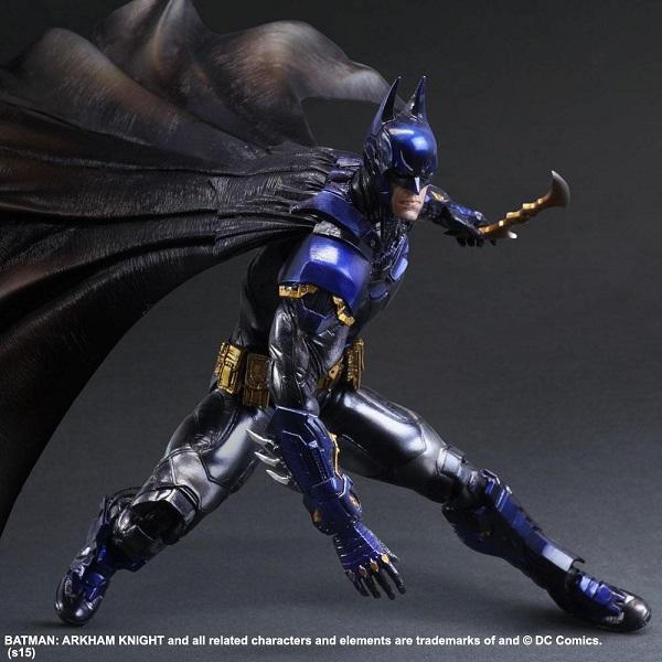 Arkham Knight figure colored 3