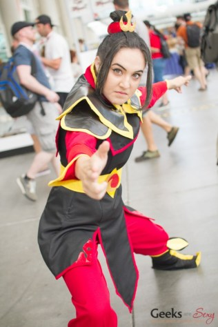 Princess Azula (Avatar) - San Diego Comic-Con 2015 - Photo by Geeks are Sexy