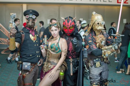Steampunk Star Wars Cosplayers - San Diego Comic-Con 2015 - Photo by Geeks are Sexy