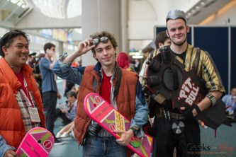 Back to the Future Cosplayers #1 - San Diego Comic-Con 2015 - Photo by Geeks are Sexy