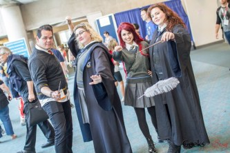 Harry Potter Cosplayers - San Diego Comic-Con 2015 - Photo by Geeks are Sexy
