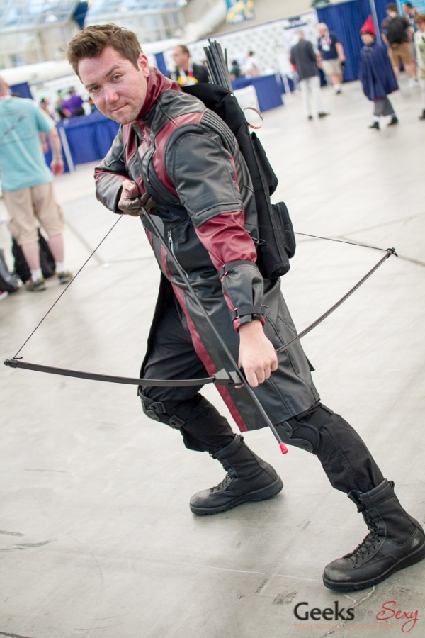 Hawkeye - San Diego Comic-Con 2015 - Photo by Geeks are Sexy