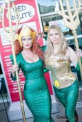 Mera and Aquaman - San Diego Comic-Con 2015 - Photo by Geeks are Sexy