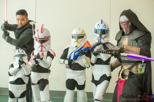 Sith Lords and Clone Troopers - San Diego Comic-Con 2015 - Photo by Geeks are Sexy