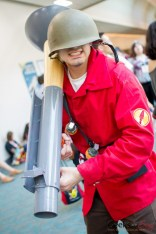 Team Fortress Soldier - San Diego Comic-Con 2015 - Photo by Geeks are Sexy