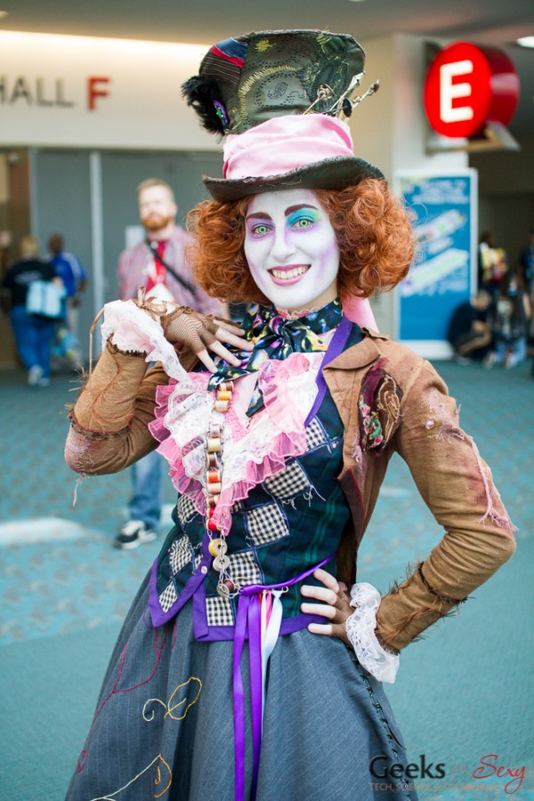 The Mad Hatter - San Diego Comic-Con 2015 - Photo by Geeks are Sexy