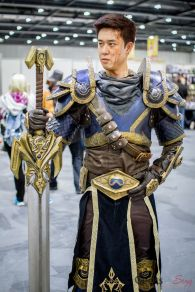 Garren (League of Legends) - Kenny Cosplay - London Super Comic Con 2016 - Photo by Geeks are Sexy