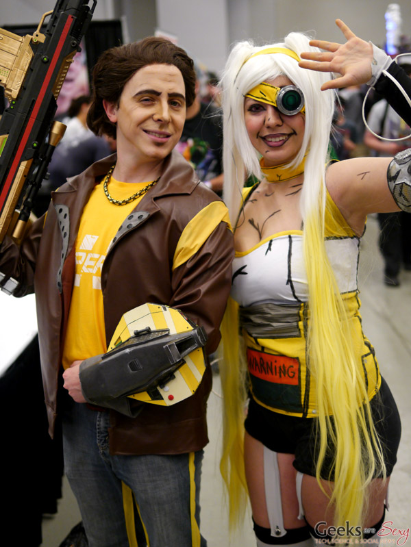 Borderlands Cosplayers - Montreal Comiccon 2016 - Photo by Geeks are Sexy