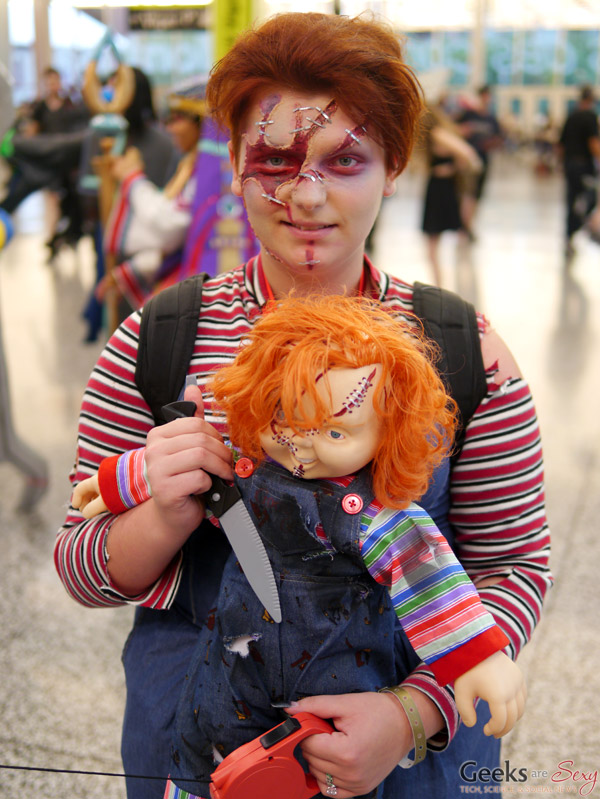 Chucky - Montreal Comiccon 2016 - Photo by Geeks are Sexy