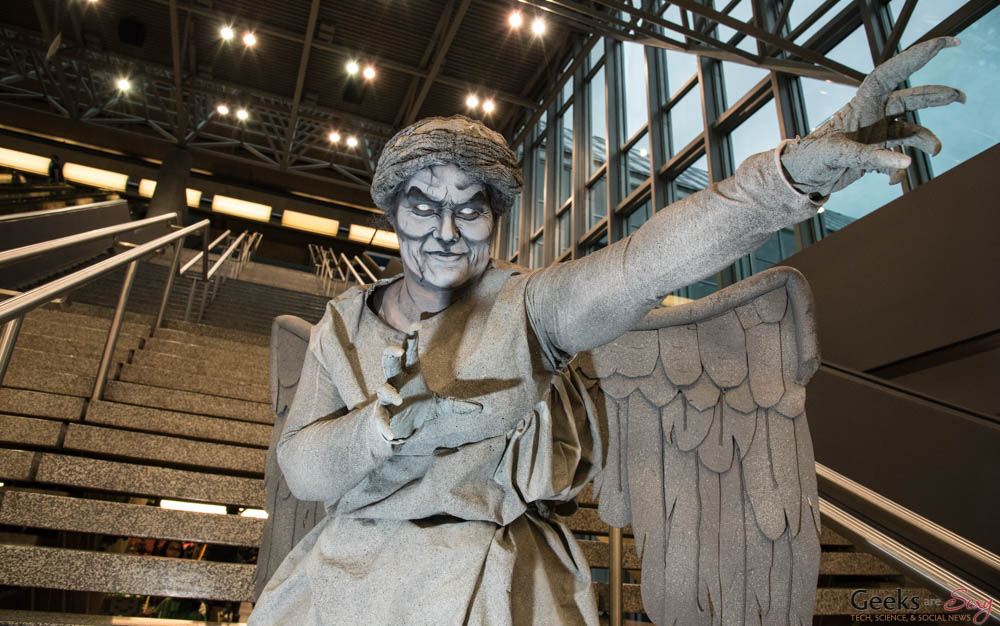 Weeping Angel (Doctor Who) - Montreal Comiccon 2016 - Photo by Geeks are Sexy