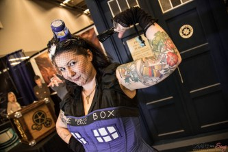 TARDIS Lady - Montreal Comiccon 2016 - Photo by Geeks are Sexy