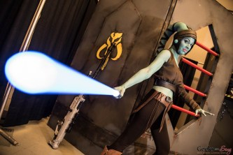 Aayla Secura (Kimette Cosplay) - Montreal Comiccon 2016 - Photo by Geeks are Sexy