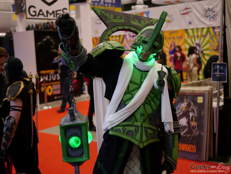 Arcane Green Lantern - Montreal Comiccon 2016 - Photo by Geeks are Sexy