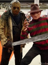Jason and Freddy - Montreal Comiccon 2016 - Photo by Geeks are Sexy