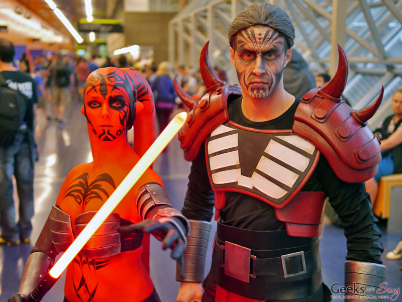 Sith Lords - Montreal Comiccon 2016 - Photo by Geeks are Sexy
