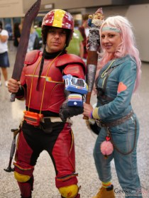 Turbo Kid and Apple - Montreal Comiccon 2016 - Photo by Geeks are Sexy