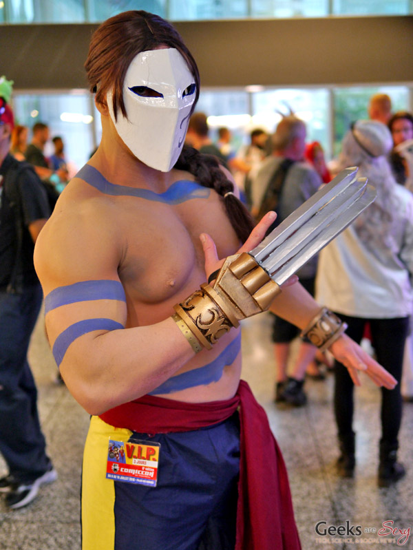 Vega (Street Fighter) - Montreal Comiccon 2016 - Photo by Geeks are Sexy