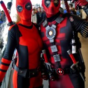 Lady Deadpool and Deadpool - Quebec City Comiccon 2016 - Photo by Geeks are Sexy