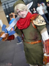 Link (WZProps) - Quebec City Comiccon 2016 - Photo by Geeks are Sexy