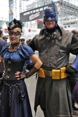 Victorian Batman and Batgirl - New York Comic Con 2016 - Photo by Geeks are Sexy