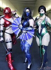 MORTAL KOMBAT! - New York Comic Con 2016 - Photo by Geeks are Sexy