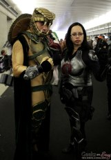 Serpentor and Baroness - New York Comic Con 2016 - Photo by Geeks are Sexy