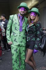 The Riddler and Friend - New York Comic Con 2016 - Photo by Geeks are Sexy
