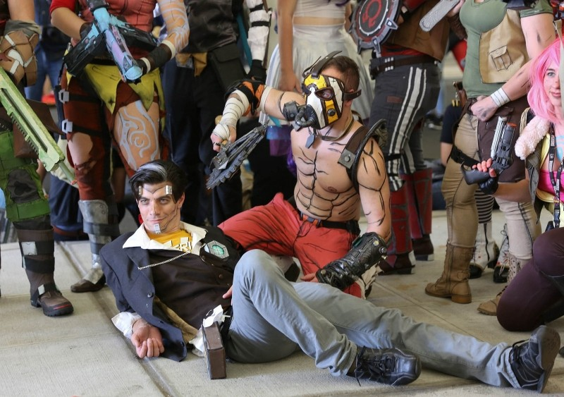 Borderlands Cosplayer - New York Comic Con 2016 - Photo by Richie S (CC)