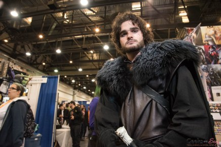 Jon Snow - Quebec City Comiccon 2016 - Photo by Geeks are Sexy