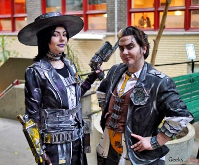 Borderlands Cosplayers - Geekfest Montreal 2016 - Photo by Geeks are Sexy