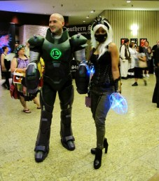 Chris and Friend as Lex Luthor and Storm