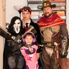Marc Overwatch Family Cosplay
